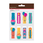 American Crafts - Clothespins - Happy Birthday