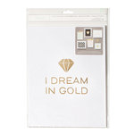 American Crafts - 8.5 x 11 Gallery Wall Packs - I Dream In Gold