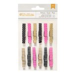 American Crafts - Clothespins - Dots and Stripes