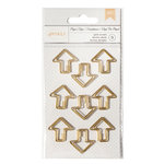 American Crafts - Paper Clips - Gold Arrows