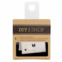 American Crafts - DIY Shop 3 Collection - Label Sticker Roll - Kraft