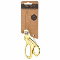 American Crafts - DIY Shop 3 Collection - Scissor - 8 Inch - Gold
