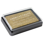 American Crafts - DIY Shop 3 Collection - Ink Pad - Gold