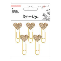 Crate Paper - Day to Day Planner Collection - Heart Paper Clips