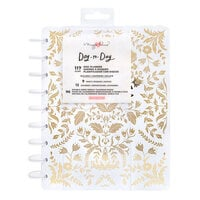 Crate Paper - Day to Day Planner Collection - Planner - Golden with Foil Accents