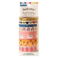 Maggie Holmes - Sweet Story Collection - Washi Tape with Foil Accents
