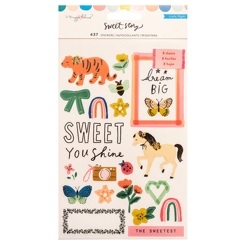 Crate Paper - Sweet Story Collection - Sticker Book