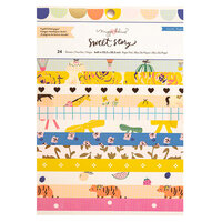 Crate Paper - Sweet Story Collection - 6 x 8 Paper Pad with Foil Accents