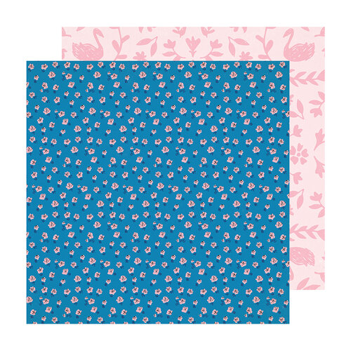 Crate Paper - Sweet Story Collection - 12 x 12 Double Sided Paper - Pink Truffle