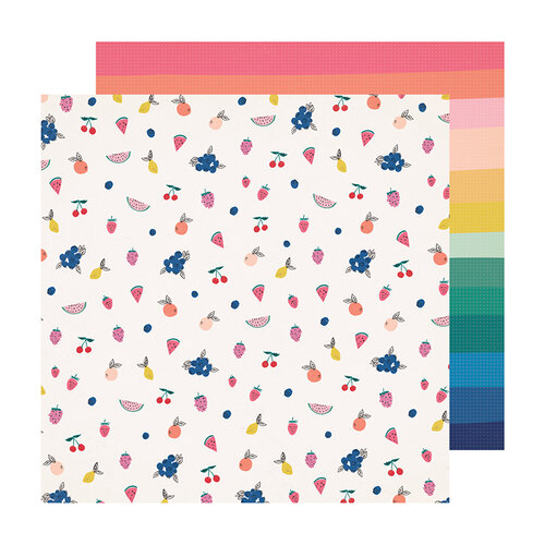Crate Paper - Sweet Story Collection - 12 x 12 Double Sided Paper - Jubilee