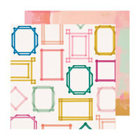 Crate Paper - Sweet Story Collection - 12 x 12 Double Sided Paper - Highlight