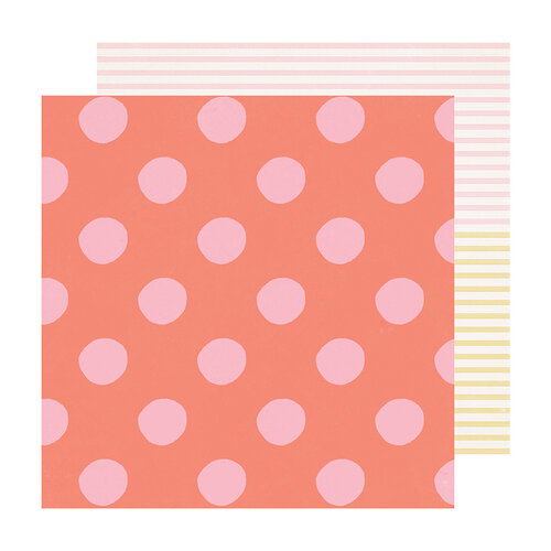 Maggie Holmes - Sweet Story Collection - 12 x 12 Double Sided Paper - Soft Serve