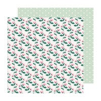 Crate Paper - Sweet Story Collection - 12 x 12 Double Sided Paper - Posies
