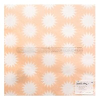 Crate Paper - Sweet Story Collection - 12 x 12 Specialty Paper - Vellum - Stardust