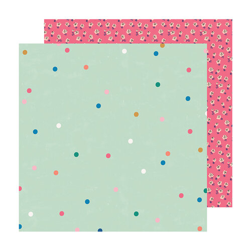 Maggie Holmes - Sweet Story Collection - 12 x 12 Double Sided Paper - Sparkle