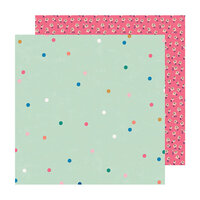 Crate Paper - Sweet Story Collection - 12 x 12 Double Sided Paper - Sparkle
