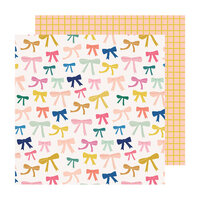 Maggie Holmes - Sweet Story Collection - 12 x 12 Double Sided Paper - Ponytail
