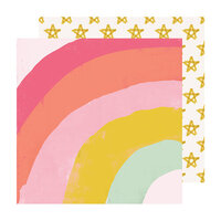 Crate Paper - Sweet Story Collection - 12 x 12 Double Sided Paper - Parfait