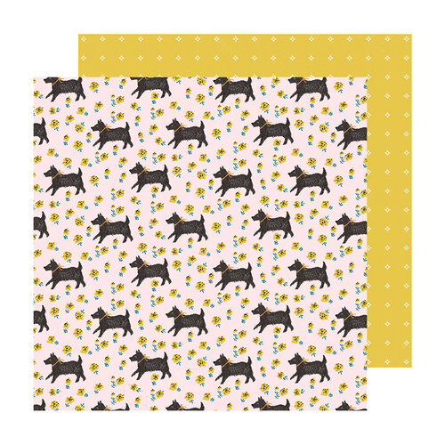 Maggie Holmes - Sweet Story Collection - 12 x 12 Double Sided Paper - Smitten