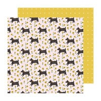 Crate Paper - Sweet Story Collection - 12 x 12 Double Sided Paper - Smitten