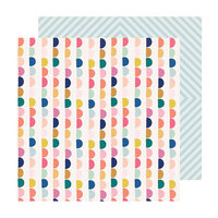 Crate Paper - Sweet Story Collection - 12 x 12 Double Sided Paper - Sprinkles