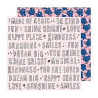 Maggie Holmes - Sweet Story Collection - 12 x 12 Double Sided Paper - Kindness