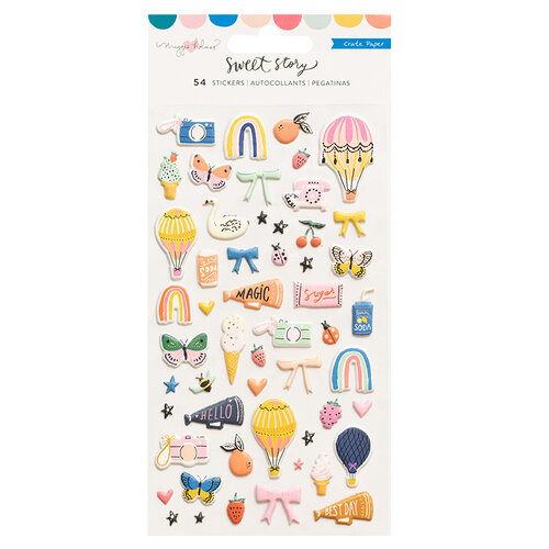 Maggie Holmes - Sweet Story Collection - Puffy Stickers
