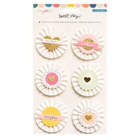 Maggie Holmes - Sweet Story Collection - Stickers - Delights with Foil and Glitter Accents
