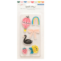 Maggie Holmes - Sweet Story Collection - Self Adhesive Rubber Accents