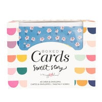 Crate Paper - Sweet Story Collection - Boxed Cards