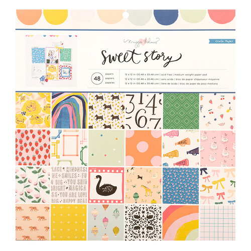 Crate Paper - Sweet Story Collection - 12 x 12 Paper Pad