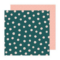 Crate Paper - Fresh Bouquet Collection - 12 x 12 Double Sided Paper - Fern