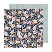 Crate Paper - Fresh Bouquet Collection - 12 x 12 Double Sided Paper - Flutter
