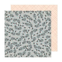 Crate Paper - Fresh Bouquet Collection - 12 x 12 Double Sided Paper - Ever After