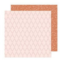 Crate Paper - Fresh Bouquet Collection - 12 x 12 Double Sided Paper - Keepsake