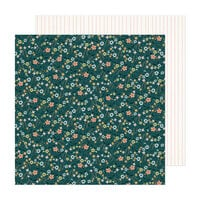 Crate Paper - Fresh Bouquet Collection - 12 x 12 Double Sided Paper - Heartfelt