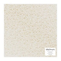 Crate Paper - Fresh Bouquet Collection - 12 x 12 Vellum Paper with Foil Accents - Sweetheart
