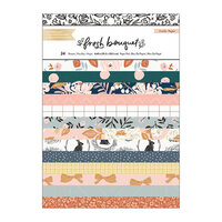 Crate Paper - Fresh Bouquet Collection - 6 x 8 Paper Pad with Foil Accents
