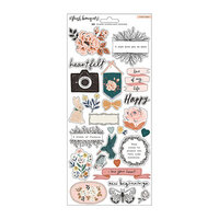 Crate Paper - Fresh Bouquet Collection - 6 x 12 - Stickers