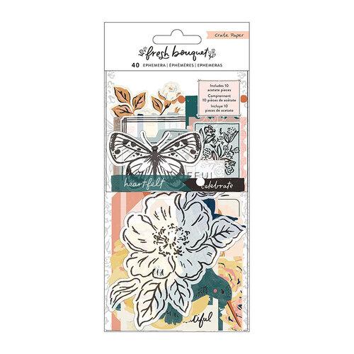 Crate Paper - Fresh Bouquet Collection - Ephemera