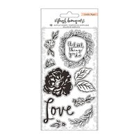 Crate Paper - Fresh Bouquet Collection - Clear Acrylic Stamps