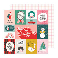 Crate Paper - Hey Santa Collection - 12 x 12 Double Sided Paper - Oh What Fun