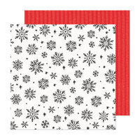 Crate Paper - Hey Santa Collection - 12 x 12 Double Sided Paper - Sweet December