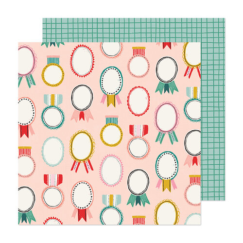 Crate Paper - Hey Santa Collection - 12 x 12 Double Sided Paper - Merry and Bright