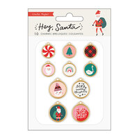 Crate Paper - Hey Santa Collection - Charms