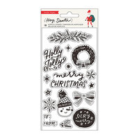 Crate Paper - Hey Santa Collection - Clear Acrylic Stamps