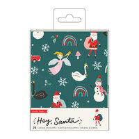 Crate Paper - Hey Santa Collection - Boxed Cards Set