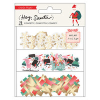 Crate Paper - Hey Santa Collection - Confetti Set
