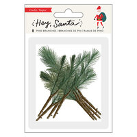 Crate Paper - Hey Santa Collection - Pine Branches