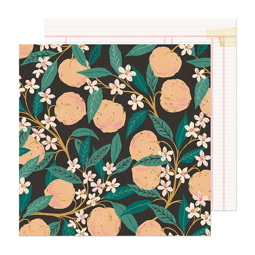 Maggie Holmes - Marigold Collection - 12 x 12 Double Sided Paper - Natural Beauty